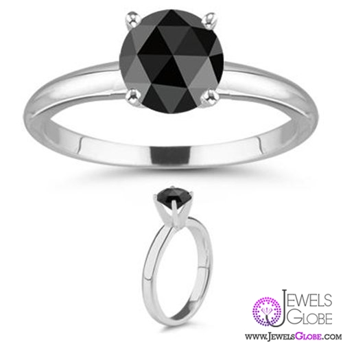 rose-cut-black-diamond-engagement-women-rings Rose Cut Diamond Engagement Rings