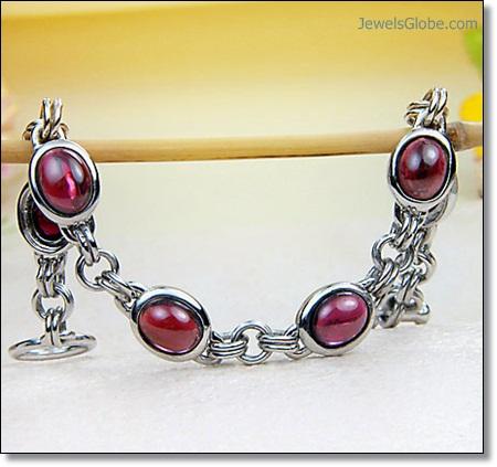 silver-Ruby-Tennis-Bracelet The 16 Top Ruby Tennis Bracelet Designs