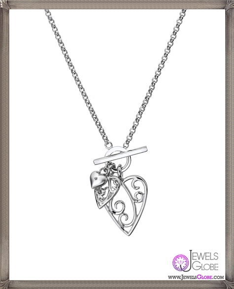 silver-and-diamond-heart-necklace The 28 Best Diamond Heart Necklaces & Pendants For Women and Buying TIPS