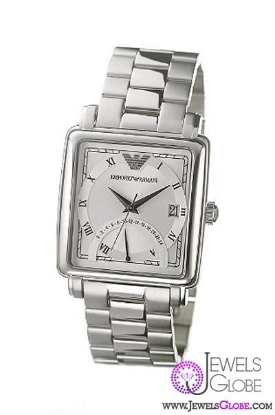 silver-armani-watches-emporio 21 Most Stylish Armani Watches For Men