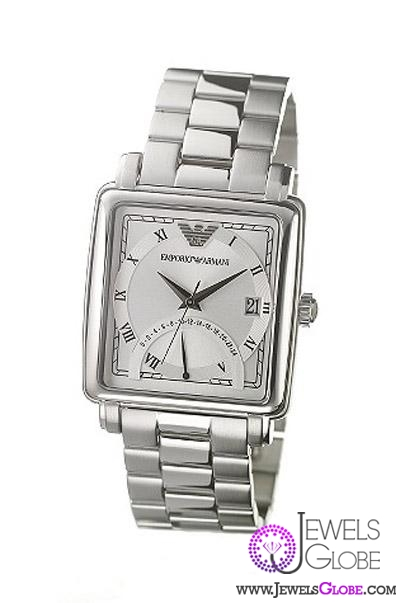 silver-armani-watches-emporio 21 Most Stylish Armani Watches For Men