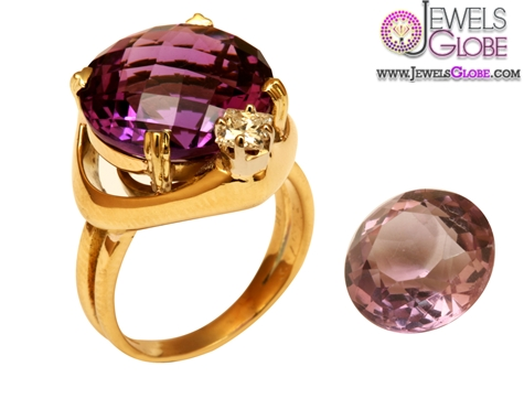 special-custom-Amethyst-engagement-ring-using-inherited-jewelry-gemstones The Most Stylish Gemstone Engagement Rings