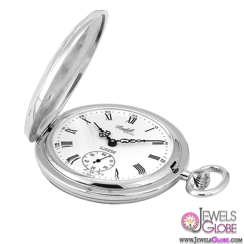stainless-steel-rudells-pocket-watch-for-Men Latest pocket watches for men (HOT Styles)