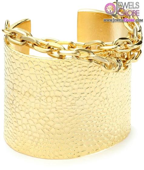 unique-style-gold-cuff-bracelets-for-women 35 Hot Cuff Bracelets For Women