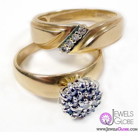 vintage-saphire-diamond-widding-ring-set Vintage Wedding Ring Sets