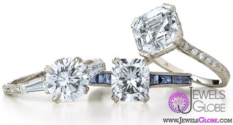 vintage-style-bridal-ring-sets Vintage Wedding Ring Sets