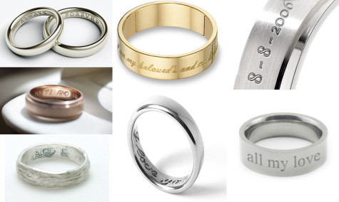 wedding-rings-with-names-engraved-475x284 How to Choose Wedding Rings for Bride and Groom with Most Popular Designs