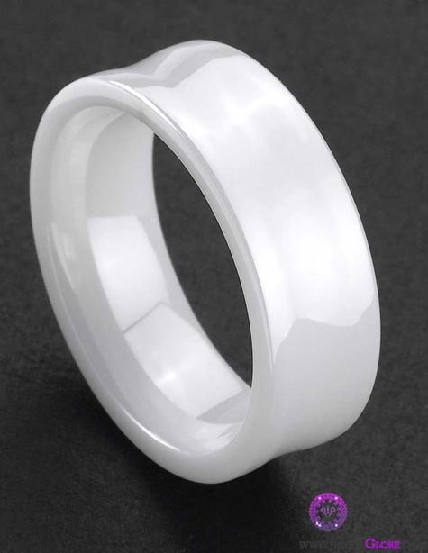 white-ceramic-wedding-mens-rings Best 23 White Ceramic Wedding Bands for Men