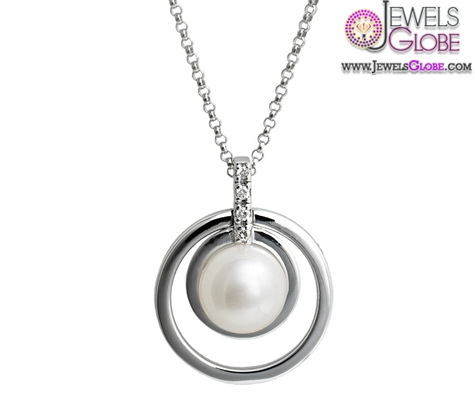 white-gold-akoya-pearl-necklace-designs Top 20 Pearl Gold Necklace Designs