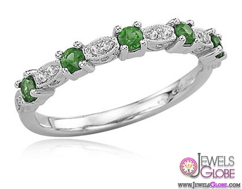 white-gold-emerald-rings A Quick Way to Get Cheap Emerald Rings For Sale