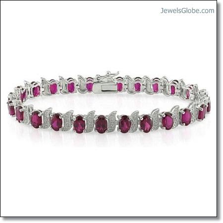 women-designed-Ruby-Tennis-Bracelet The 16 Top Ruby Tennis Bracelet Designs