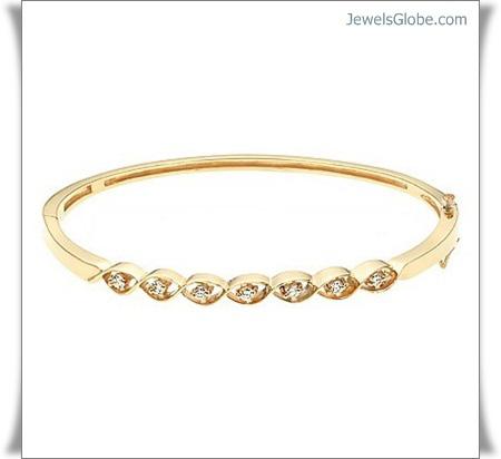 yellow-diamond-gold-gemstone-tiny-bracelet 18 Best Gold Gemstone Bracelets Designs